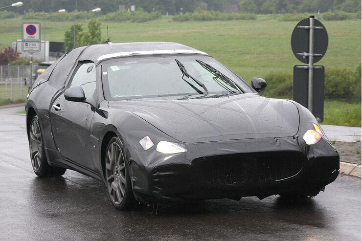 Maserati Spyder Erlkönig