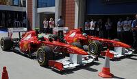 Massa Alonso GP Türkei 2011