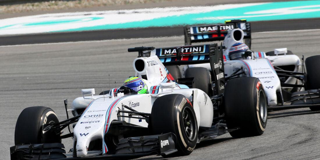 Massa & Bottas - GP Malaysia 2014