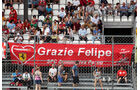 Massa-Fans - Formel 1 - GP Italien - Monza - 2. September 2016