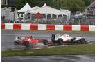 Massa & Kobayashi GP Kanada 2011