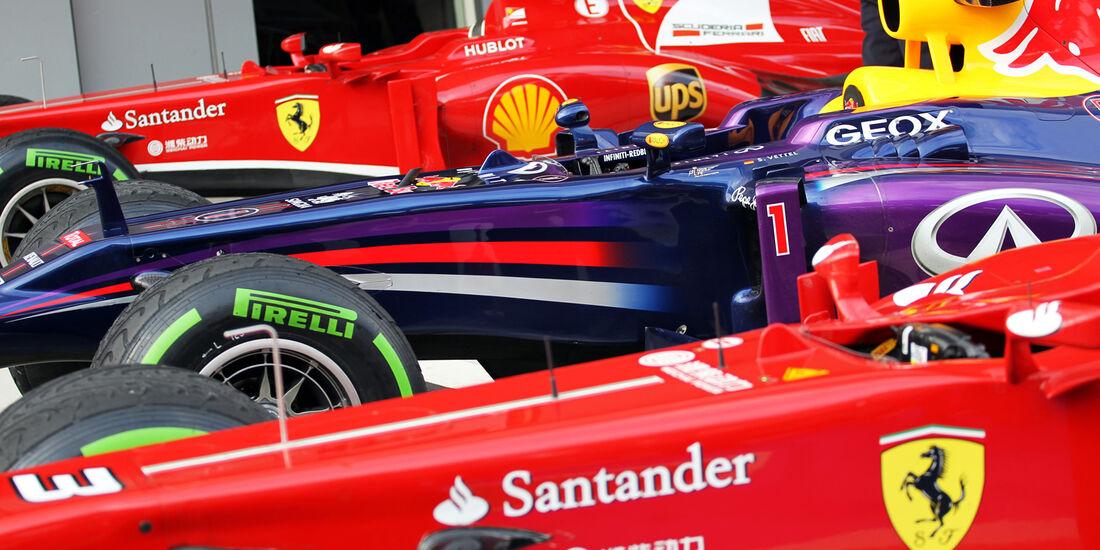 Massa, Vettel & Alonso GP Malaysia 2013