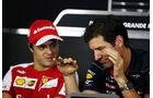 Massa & Webber - Formel 1 - GP Brasilien - 21. November 2013