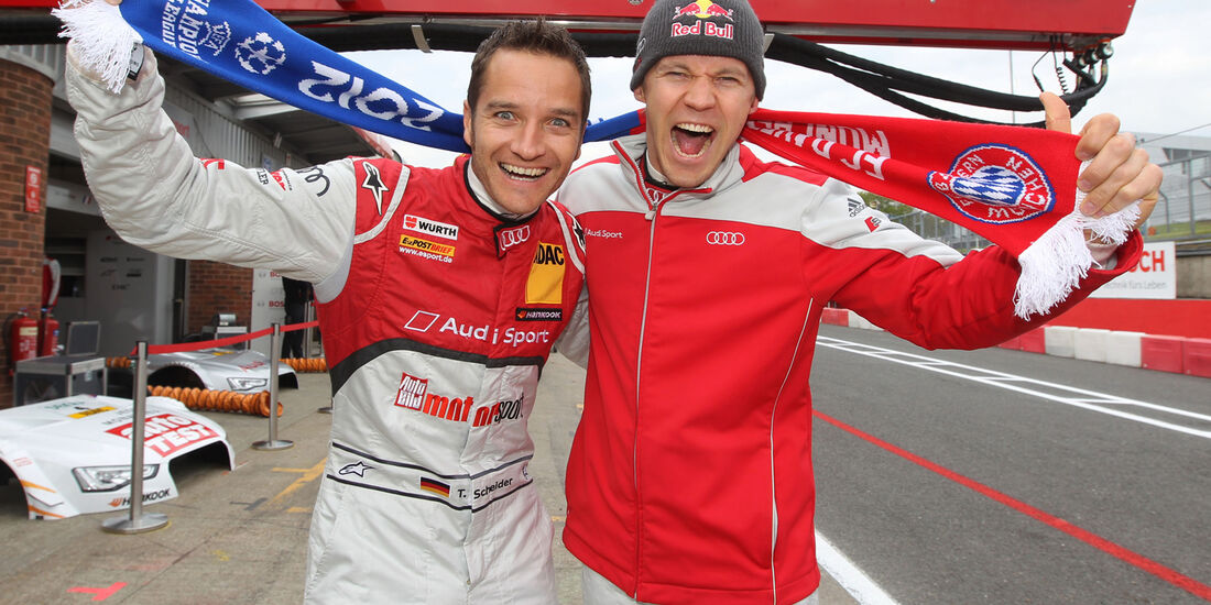 Mattias Ekström Audi DTM Brands Hatch 2012