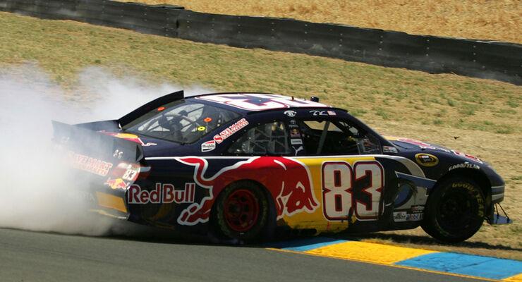 Mattias Ekström bei seinem NASCAR-Debüt