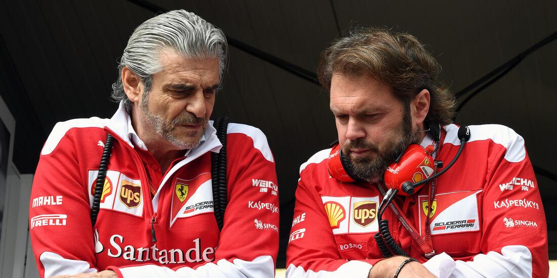 Maurizio Arriabene - Ferrari - Formel 1 - GP Monaco - 26. Mai 2016
