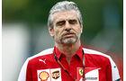 Maurizio Arrivabene - Ferrari - Formel 1 - GP Monaco - Samstag- 23. Mai 2015