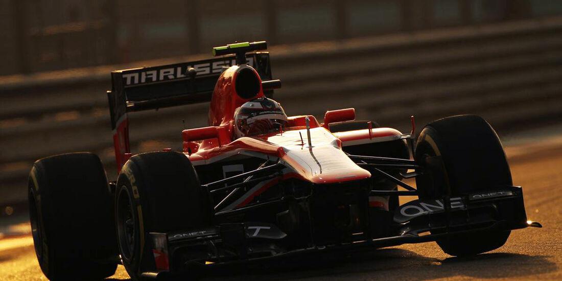 Max Chilton - Formel 1 - GP Abu Dhabi - 02. November 2013