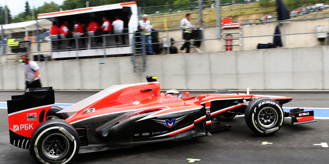 Max Chilton - Marussia - Formel 1 - GP Belgien - Spa-Francorchamps - 24. August