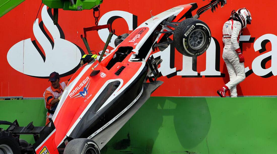 Max Chilton - Marussia  - Formel 1 - GP Italien - 7. September 2014