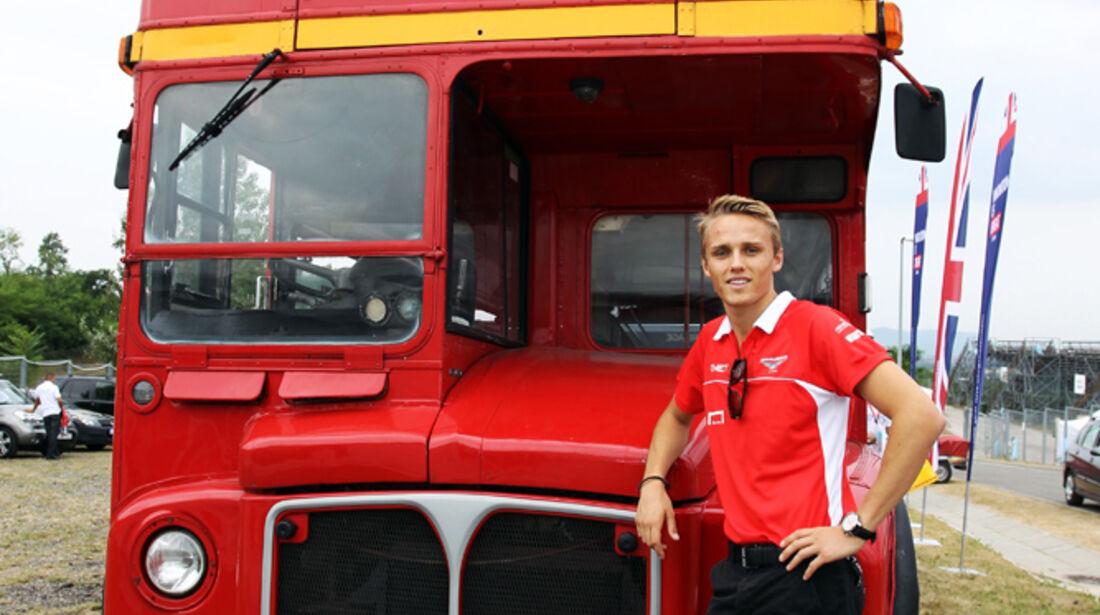 Max Chilton - Marussia - Formel 1 - GP Ungarn - 25. Juli 2012