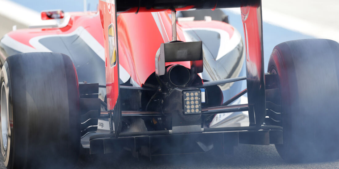 Max Chilton - Marussia - Formel 1 - Test - Bahrain - 27. Februar 2014
