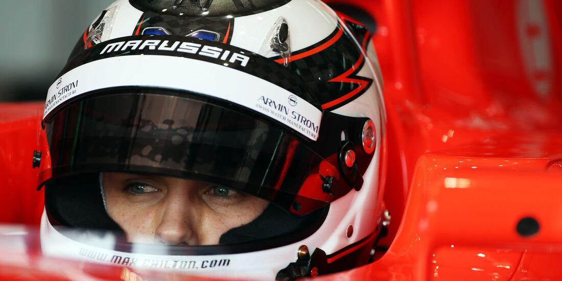 Max Chilton, Marussia, Formel 1-Test, Barcelona, 20. Februar 2013
