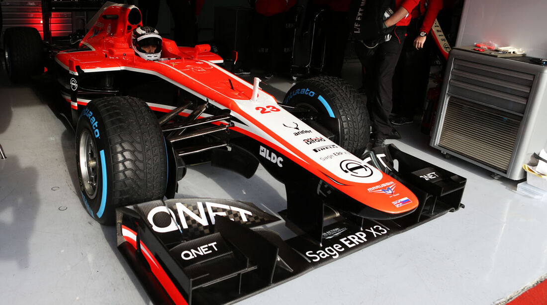 Max Chilton, Marussia, Formel 1-Test, Barcelona, 28. Februar 2013