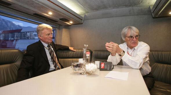 Max Mosley - Bernie Ecclestone - GP Monaco 2006