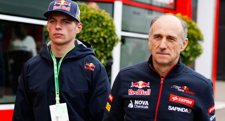 Max Verstappen & Franz Tost - GP Belgien 2014