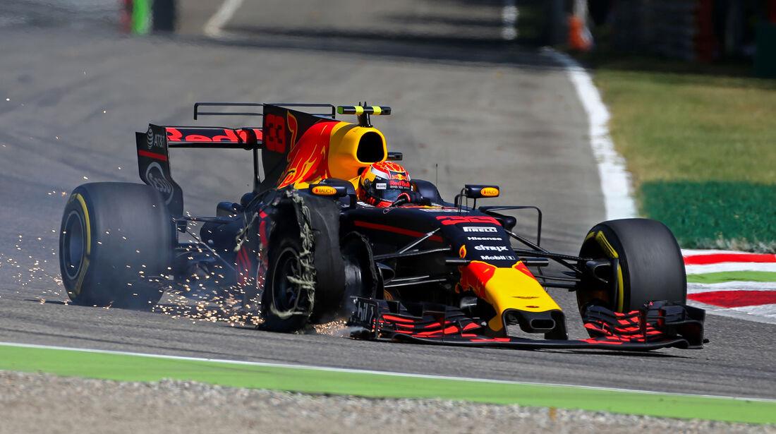 Max Verstappen - GP Italien 2017