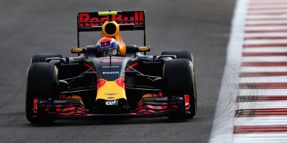 Max Verstappen - Red Bull - Formel 1 - GP Abu Dhabi - 25. November 2016