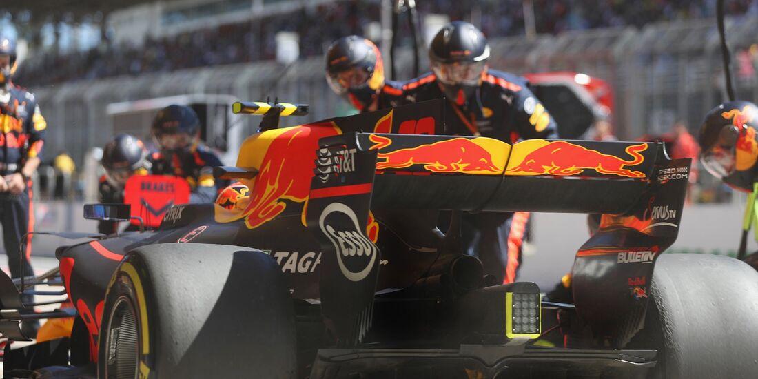 Max Verstappen - Red Bull - Formel 1 - GP Brasilien - 12. November 2017