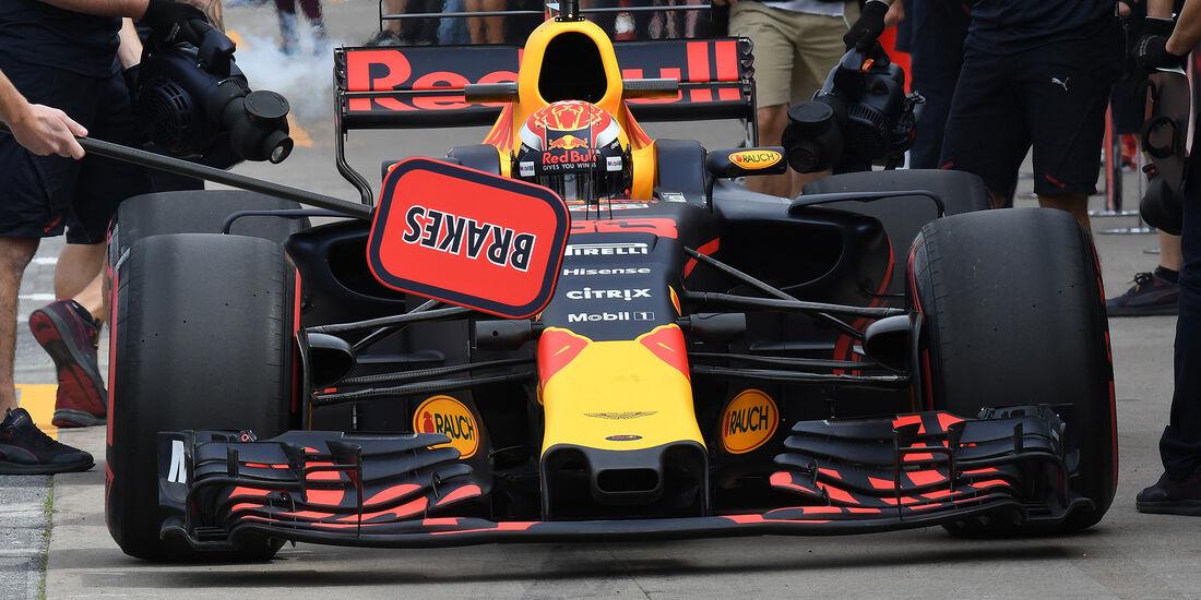 Max Verstappen - Red Bull - Formel 1 - GP Kanada - Montreal - 9. Juni 2017