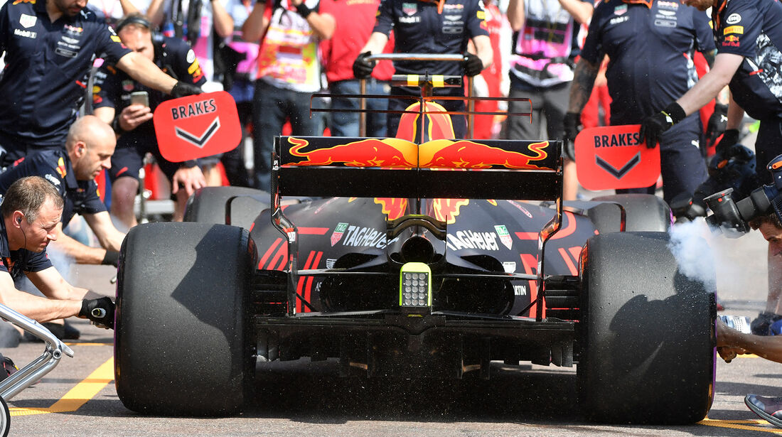 Max Verstappen - Red Bull - Formel 1 - GP Monaco - 25. Mai 2017