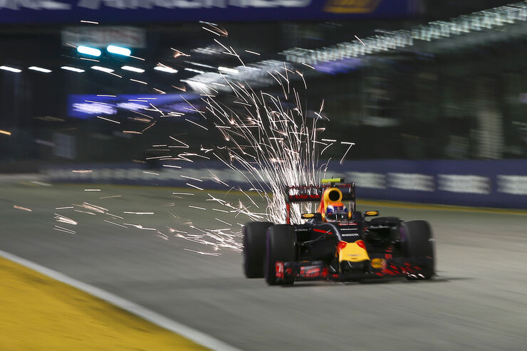 Max Verstappen - Red Bull - Formel 1 - GP Singapur - 17. September 2016