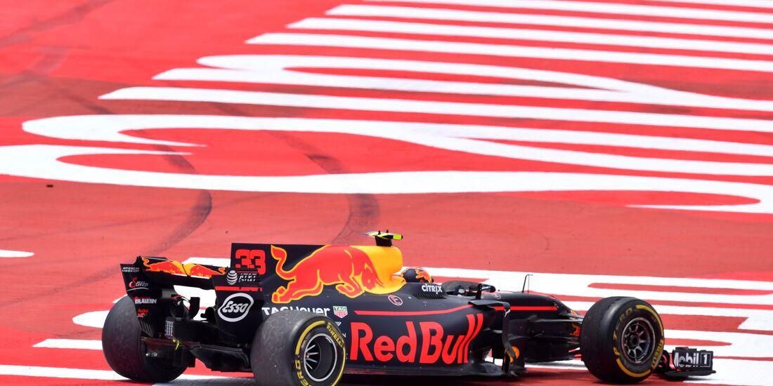 Max Verstappen - Red Bull - Formel 1 - GP Spanien - 14. Mai 2017
