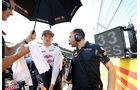 Max Verstappen - Red Bull - Formel 1 - GP Ungarn - 24. Juli 2016