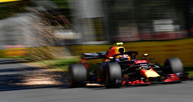 Max Verstappen - Red Bull - GP Australien 2018 - Melbourne - Albert Park - Freitag - 23.3.2018