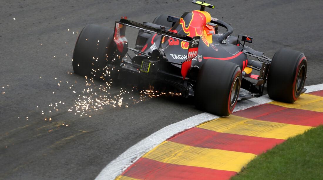 Max Verstappen - Red Bull - GP Belgien - Spa-Francorchamps - 24. August 2018