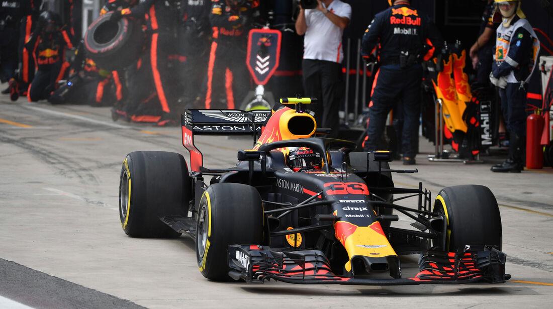 Max Verstappen - Red Bull - GP Brasilien 2018 - Rennen