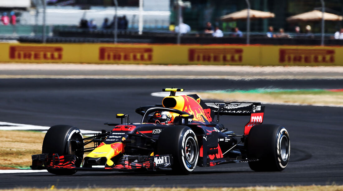 Max Verstappen - Red Bull - GP England - Silverstone - Formel 1 - Freitag - 6.7.2018