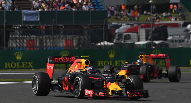 Max Verstappen - Red Bull - GP England - Silverstone - Formel 1 - Freitag - 8.7.2016