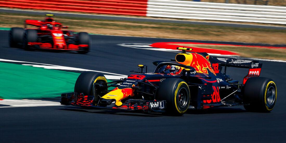 Max Verstappen - Red Bull - GP England - Silverstone - Formel 1 - Samstag - 7.7.2018