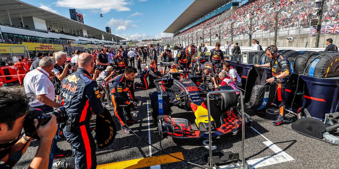 Max Verstappen - Red Bull - GP Japan 2018