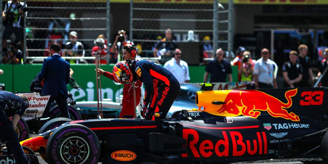 Max Verstappen - Red Bull - GP Mexiko 2017 - Qualifying