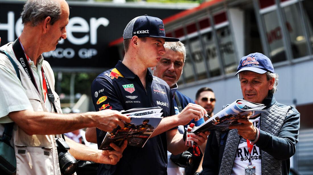 Max Verstappen - Red Bull - GP Monaco - Formel 1 - Mittwoch - 23.5.2018