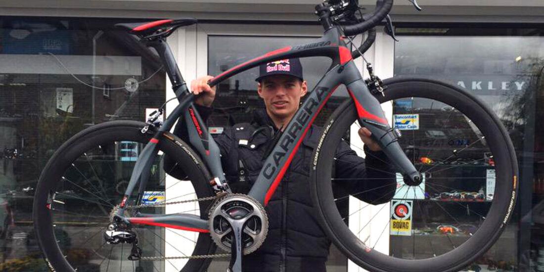 Max Verstappen - Rennbike - 2015