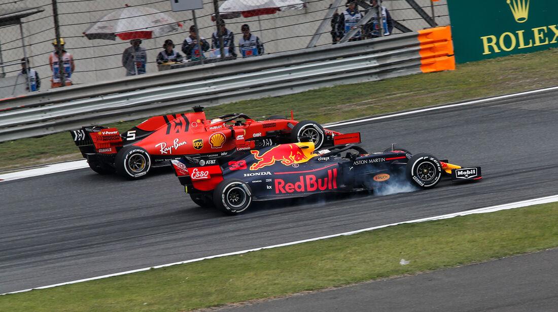 Max Verstappen - Sebastian Vettel - GP China 2019 - Shanghai