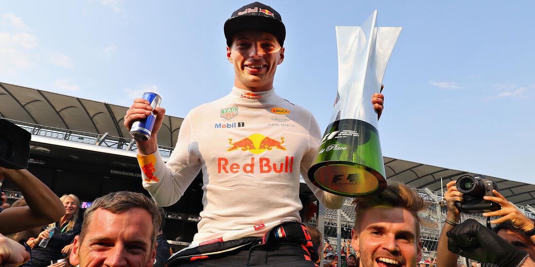 Max Verstappen - Stats - GP Mexiko 2017