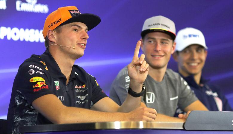 Max Verstappen & Stoffel Vandoorne - GP Belgien - Spa-Francorchamps - Formel 1 - 24. August 2017