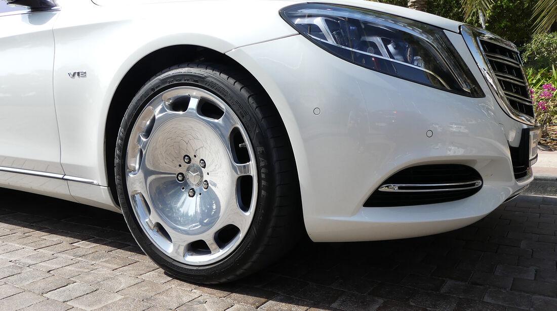 Maybach Mercedes S500 - Carspotting - GP Abu Dhabi 2016
