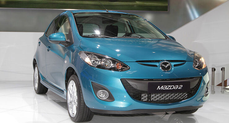 Mazda 2 Facelift 2010, Paris 2010