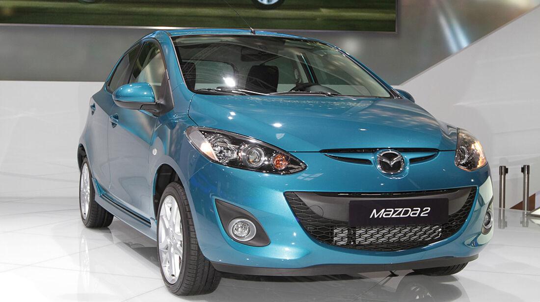 Mazda 2 Facelift 2010, Paris 2010