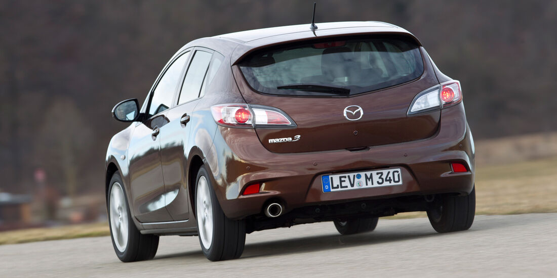 Mazda 3 2.2 MRZ-CD, Heck