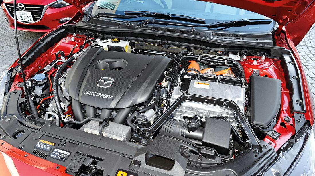 Mazda 3 Hybrid, Motor