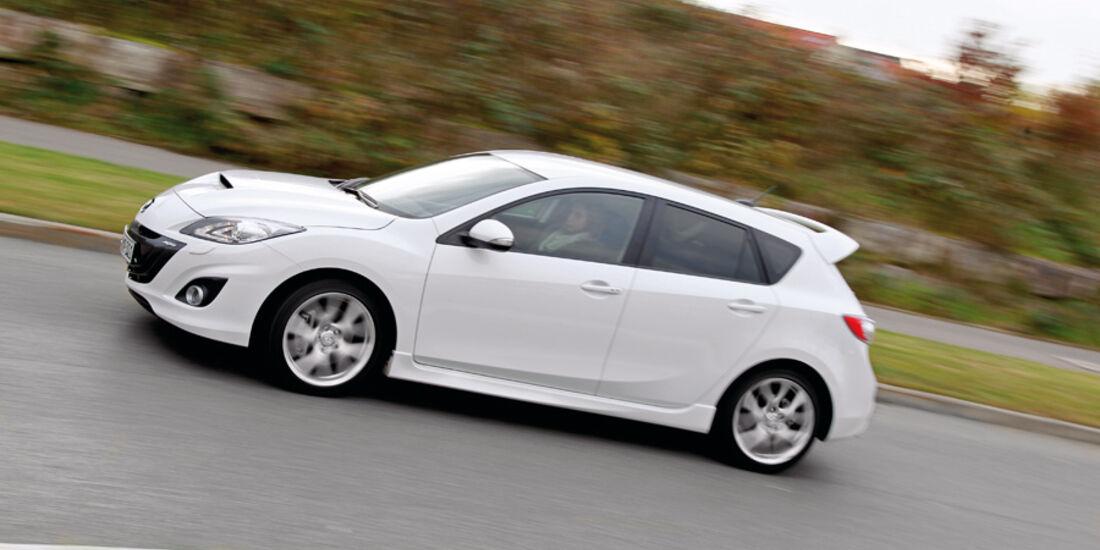 Mazda 3, Seitenansicht