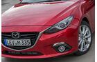 Mazda 3 Skyactiv-D 150, Frontscheinwerfer