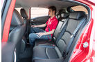 Mazda 3 Skyactiv G 120, Rücksitz, Beinfreiheit