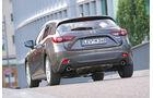 Mazda 3 Skyactiv G 165, Heckansicht